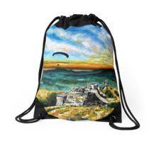 'Paragliding' by ArtDesignlipe Paragliding, Drawstring Backpack, Backpacks, Abstract, Bags, Painting, Summary, Handbags, Painting Art