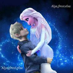 Jack Frost Movie, Balto And Jenna, Frozen Images, Frozen Love, Jack Frost And Elsa, Rise Of The Guardians, Disney Frozen Elsa, Queen Elsa, Gender Bender