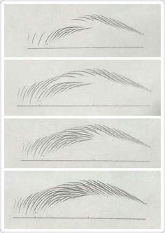 Malerei/Zeichnen Art Inspirations Eyebrow tutorial Wedding Faq: Answers For Planning And Paying For Pencil Art Drawings, Art Drawings Sketches, How To Draw Eyebrows, Drawing Eyebrows, Eyebrows Sketch, Eyebrow Tutorial, Drawing Techniques, Drawing Tips, Pencil Drawing Tutorials