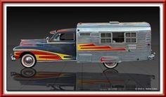 1947 Dodge custom camper conversion