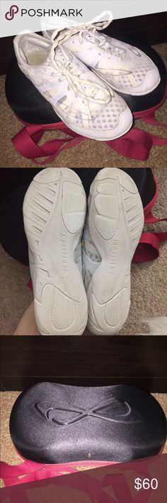 Nfinity cheer shoes (size 6) Only worn them for one season, they're in excellent condition. Hope someone enjoys them as much as I did :) Nfinity  Shoes Athletic Shoes