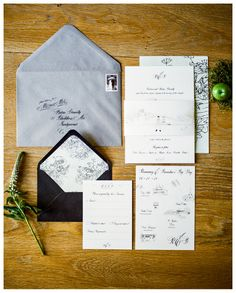 Chic Dublin City Wedding Inspiration…<br/>Brosnan Photographic, Pretty as a Picture <br/> and The Bridal Lounge Wedding Invitations Ireland, Black Wedding Invitations, Wedding Stationery, Invitation Set, Invitation Design, Invites, Wedding Trends, Wedding Designs, Wedding Ideas