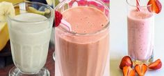 Emagreça tomando esses deliciosos shakes