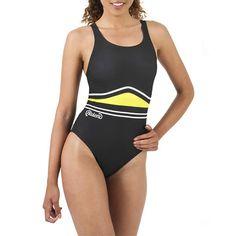 YELLOW DUNE Costume a pezzo unico, Disegnato e studiato appositamente per il nuoto e per gli sport acquatici in generale. TAGLIE : 42 - 44 - 46 - 48