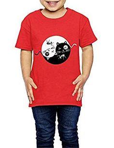Filles Enfants T-shirt girafe Fruit Of The Loom Tops /& T-shirts