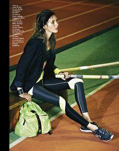 marathon woman: julia frauche by james macari for grazia france 1st march 2013 | visual optimism; fashion editorials, shows, campaigns & more!