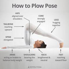How to Do Plow Pose Yoga iyengar yoga Pranayama, Kundalini Yoga, Yoga Inspiration, Fitness Inspiration, Plow Pose Yoga, Yoga Fitness, Fitness Classes, Fitness Wear, Wellness Fitness