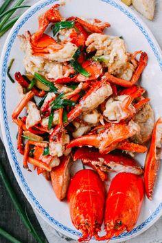 Cantonese-Style Ginger Scallion Lobster | The Woks Of Life