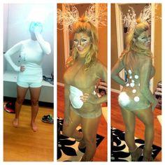 #bambi #halloween #creative #costume #deer #antlers #cottontail