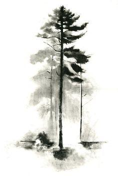 """Saatchi Online Artist: Rachel Burgess; Monotype, Printmaking """"The Sentinel"""""""