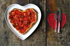 MsMarmiteLover: Tomato tart fine for Valentines
