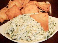 Olive Garden Hot Artichoke-Spinach Dip Recipe