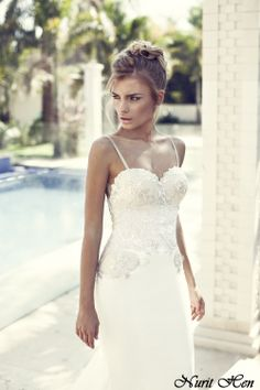 Nurit Hen 2014 collection.   . Available world wide..  Contact   nurithenofficial@gmail.com   www.nurit-hen.com    #wedding   #weddinggown  #weddingown  #bride  #fashion  #dress  #weddingdress  #love #engaged ##fashion #weddinggown #weddinginspiration #nurithen #gown #weddingdress
