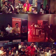 Primer ronda de cocteles en el campeonato nacional de bartenders Finest Bartending en el Hotel Plaza Juan Carlos ho…