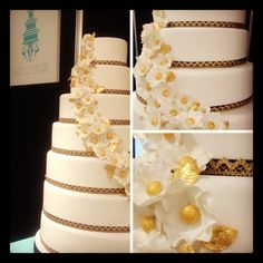 niemierko - cake by www.gccouture.co.uk Beautiful Wedding Cakes, Cupcakes, Cookies, Photo And Video, Instagram, Crack Crackers, Cupcake Cakes, Biscuits, Cookie Recipes