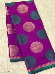 Sarees Stylish Banarasi Cotton Silk Zari Work Saree  *Fabric* Saree - Banarasi Cotton Silk.  *Size* Saree Length - 5.50 Mtr.  *Work* Zari Work  *Sizes Available* Free Size *   Catalog Rating: ★4.1 (1679)  Catalog Name: Vanya Zari Woven Banarasi Cotton Silk Sarees CatalogID_121281 C74-SC1004 Code: 717-1009461-