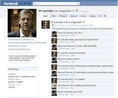 Send DI Lestrade Repeated Obnoxious Message - Bicker with DI Lestrade. Networks: Scotland Yard - Competent Division. Current Location: Your flat.