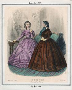 Le Bon Ton December 1859 LAPL