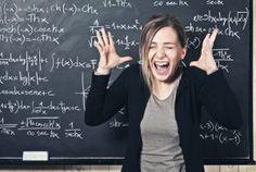 teacher in distress