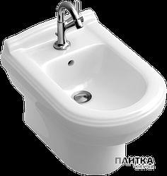 Биде Villeroy&Boch Hommage 7441B0R1 Белое биде округлой формы, выполнено биде из фарфора. Купить на сайте plitka.kiev.ua.