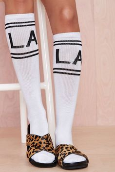 My L.A. Crew Knee-High Socks
