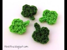 Episode 59: How to Crochet a One Round Shamrock