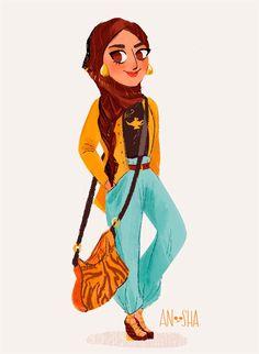 disney-ilustracao-roupasmodernas-jasmine