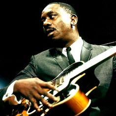 Wes Montgomery was an American jazz guitarist. He is widely considered one of the major jazz guitarists. Montgomery was known for an unusual technique of plucking the strings with the side of his thumb which granted him a distinctive sound I Love Music, Music Is Life, My Music, Music Stuff, Jazz Artists, Jazz Musicians, Music Artists, Louis Armstrong, A Love Supreme