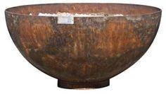 """37"""" Big Bowl O' Zen Fire Bowl by John T. Unger"""