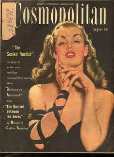 Cosmopolitan magazine, AUGUST 1947 Artist: Coby Whitmore