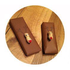 Verpackung Rentier #reindeer #xmas #wrapping #peanut