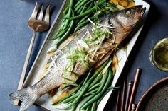 In this dish from Rintaro, in San Francisco, the sweet-savory sauce cooks right in the pan with the branzino, infusing it with flavor. The result is succulent and rich but not heavy.