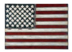 Uttermost American Flag Home Decor [Misc.] # 13480 by Uttermost. $149.60. Weight:11.Ship via UPS:Yes. Home Improvement Mall Offers the broadest selection of Home furniture. Dimensions:36 W X 25 H X 1 D. Huge Selection and Inventory.Authorize Dealer By Uttermost. Traditional Metal Wall Art . Designer By Grace Feyock. Made of hand forged metal, this wall art is finished in aged red, white and blue with black tipping. # 13480
