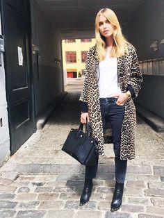 On Pernille Teisbaek: Céline boots.