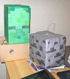 the mama: A Minecraft Birthday!