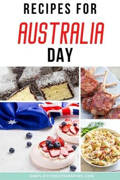 Plan the ultimate Australia Day celebration with Aussie inspired recipes. Savoury Australia Day recipes