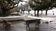 Esondazione del #LagoMaggiore a #Cerro di #LavenoMombello