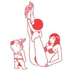 DRAWING BY KIMIAKI YAEGASHI (AKA OKIMI)