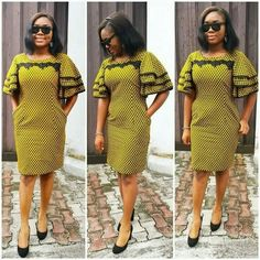 Check Out The Scintillating Short Ankara Gown Styles Specially for Lovely Ladies.Check Out The Scintillating Short Ankara Gown Styles Specially for Lovely Ladies African Dresses For Women, African Fashion Dresses, African Attire, African Wear, African Women, African Style, African Outfits, Fashion Outfits, Ankara Fashion