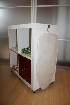 mueble plancha recogido