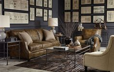 Den/ Sitting Area | Kathy Kuo Home