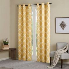 yellow curtains - Google Search