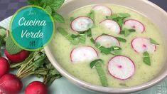 Radieschen-Minze Suppe - Rezept von Joes Cucina Verde Vegetables, Food, Wheat Berry Recipes, Veggie Recipes, Peeling Potatoes, Food Food, Meal, Eten, Vegetable Recipes