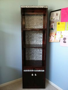 My Fourth DIY Project This Is The After Pic Of Book Shelf I Found