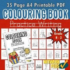 This is a fun activity for learners to practice their writing skills with a corresponding picture to colour. This product provides 1 license per teacher to print for 1 classroom. English Writing Skills, Letter T, Free Activities, Activity Sheets, Primary School, Colorful Pictures, Teaching Resources, Curriculum, Coloring Books