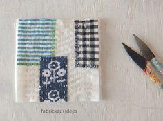 手縫いワーク   fabrickaz+idees