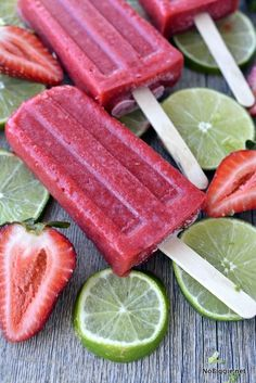 We're already dreaming of warm Summer Days where popsicles are on the menu. As a mom, you can feel good about serving up these healthy three ingredient strawberry popsicles, because they're healthy! No food dyes or artificial sweeteners here, just fresh fruit and honey to help sweeten them up. We made a little video to …