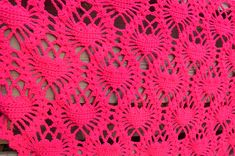 I heart hearts  lacy crochet shawl. Pattern for almost free! http://www.ravelry.com/patterns/library/i-heart-hearts-shawl