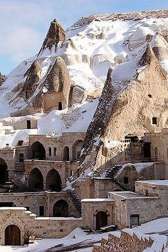Cappadocia, Turkey...built into the mountain