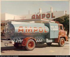 AMPOL SERVICE STATION, 1966 - Australia